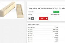 HIFI FILTER CS17168